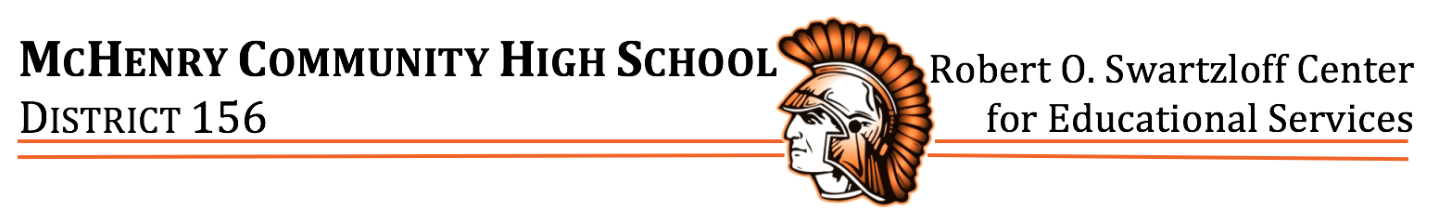 McHenry High School District 156